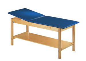 Table with Blue Cushions